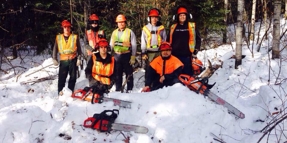 diversity in the workplace with Forestry workers from the Fort Nelson First Nation