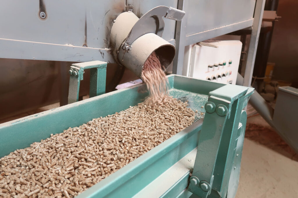 wood pellets for bioenergy